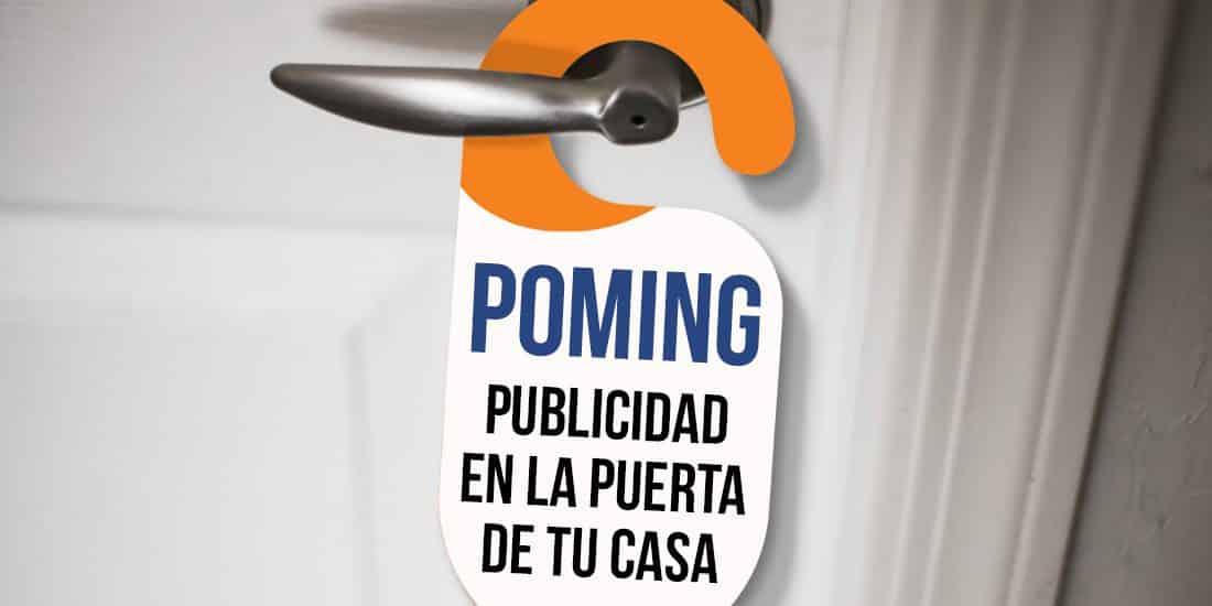 Pomo de una puerta con servicio de perching y poming